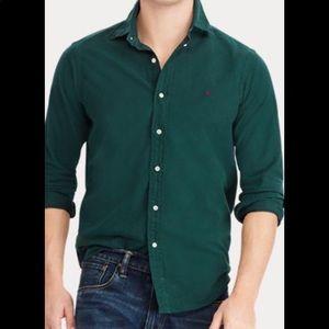 Ralph Lauren Classic Fit Forest Green Shirt